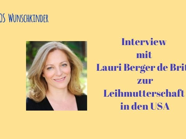 Interview mit Lauri Berger de Brito über Leihmutterschaft in den USA